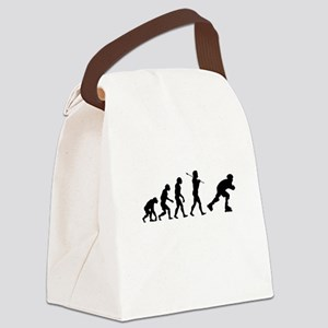 Evolved To Inline Canvas Lunch Bag