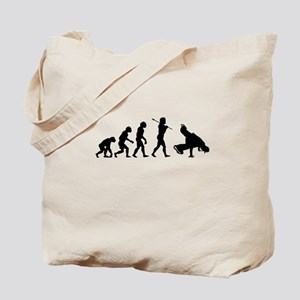 Break Dance Evolution Tote Bag