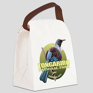 Tongariro NP Canvas Lunch Bag