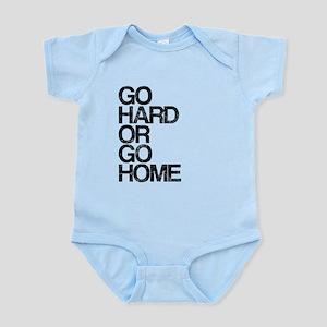 Go Hard or Go Home, Aged, Infant Bodysuit