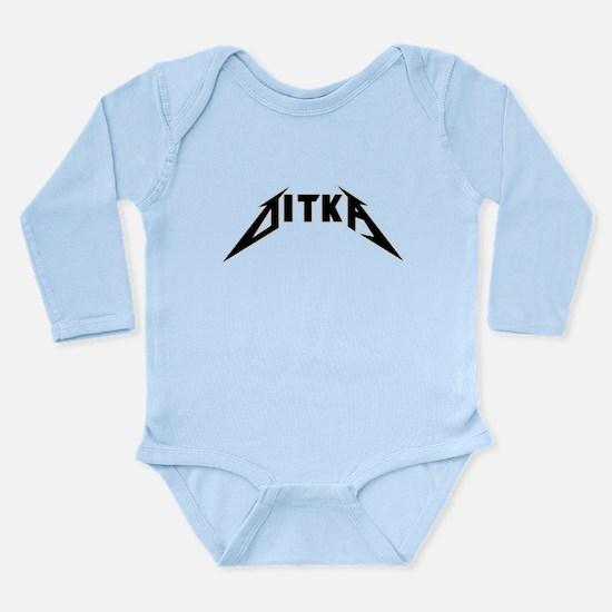 DITKA Rocks Long Sleeve Infant Bodysuit