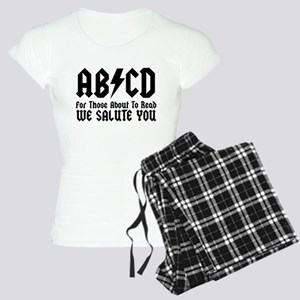ABCD, We Salute You, Women's Light Pajamas