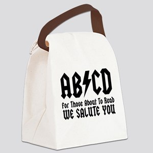 ABCD, We Salute You, Canvas Lunch Bag