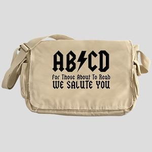 ABCD, We Salute You, Messenger Bag