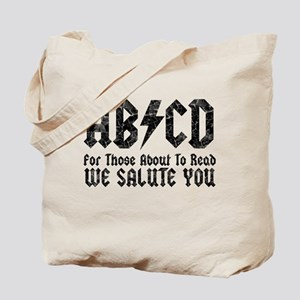 ABCD, We Salute You, Tote Bag