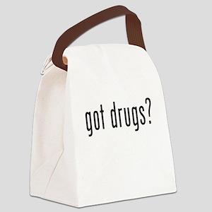 Got Drugs? Canvas Lunch Bag