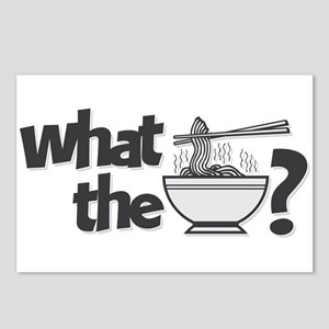 What the Pho? Postcards (Package of 8)