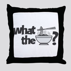 What the Pho? Throw Pillow