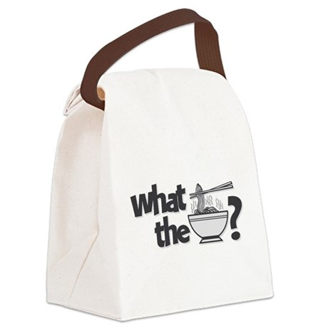 What the Pho? Canvas Lunch Bag