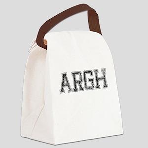 ARGH, Vintage Canvas Lunch Bag