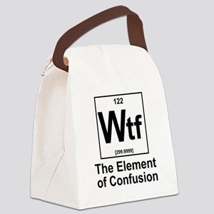 Element Wtf Canvas Lunch Bag