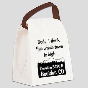 Boulder High Town Canvas Lunch Bag