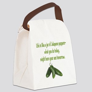 Jalapeno Burn Canvas Lunch Bag