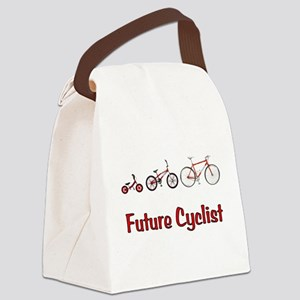 Future Cyclist Canvas Lunch Bag