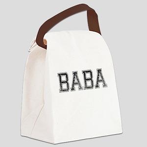 BABA, Vintage Canvas Lunch Bag
