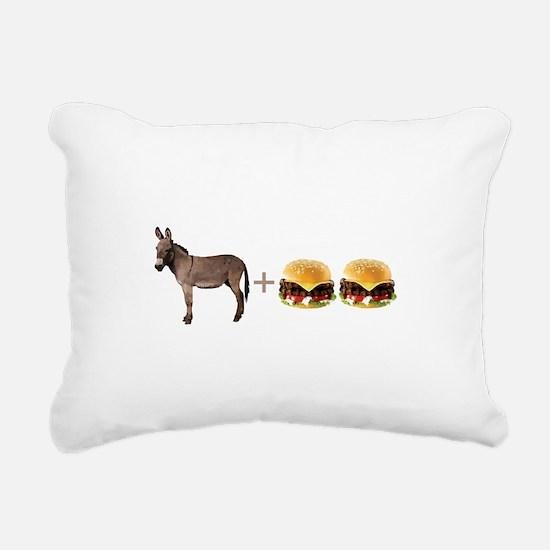 Asperger's Rectangular Canvas Pillow