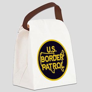Border Patrol Canvas Lunch Bag