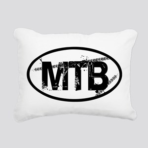 MTB Oval Rectangular Canvas Pillow