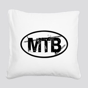 MTB Oval Square Canvas Pillow