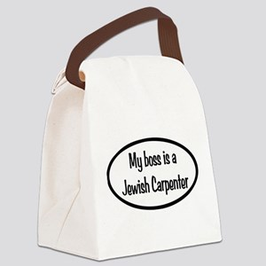 My Boss Oval Canvas Lunch Bag