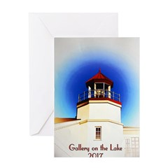 Gallery on the Lake 2017 Poster Greeting Cards