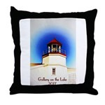 Gallery on the Lake 2017 Poster Throw Pillow