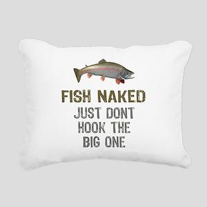 Fish Naked Rectangular Canvas Pillow