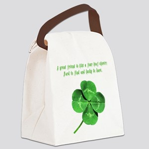 4leafcloverfriend Canvas Lunch Bag