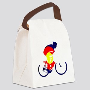 Colorado Cycling Canvas Lunch Bag
