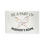 Hudson's Hope Rectangle Magnet (100 pack)