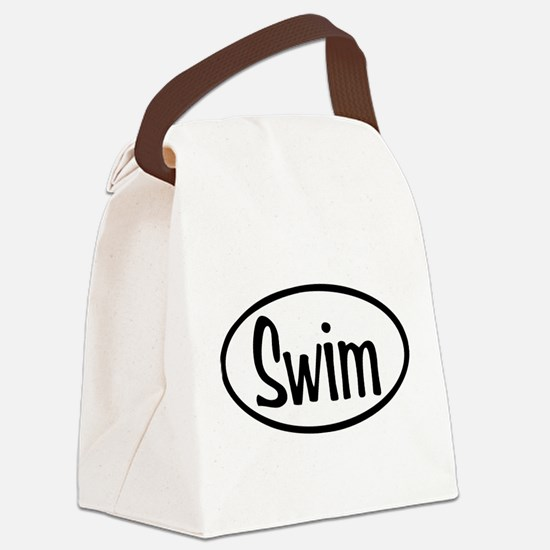 swim.png Canvas Lunch Bag
