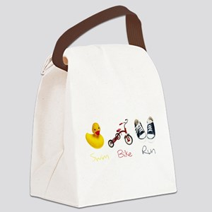 Baby Tri Canvas Lunch Bag