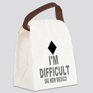 I'm Difficult ~ Ski New mexico Canvas Lunch Bag