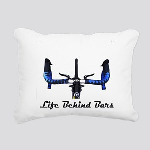 Life Behind Bars Rectangular Canvas Pillow