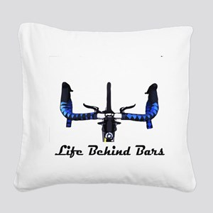 Life Behind Bars Square Canvas Pillow