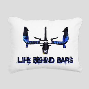 Life Behind Bars Rectangular Canvas Pillow