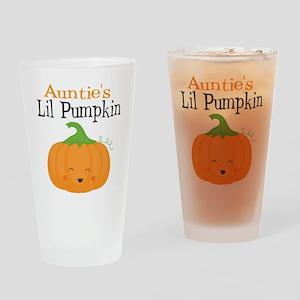 Aunties Little Pumpkin Drinking Glass