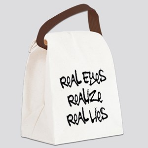 Real Eyes Canvas Lunch Bag
