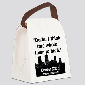 High City Canvas Lunch Bag