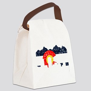 CO_Flag2_wash_Navy Canvas Lunch Bag