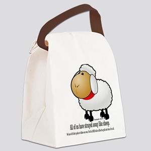 We all are like sheep Canvas Lunch Bag