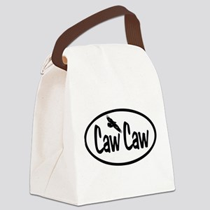 Caw Caw Oval Canvas Lunch Bag