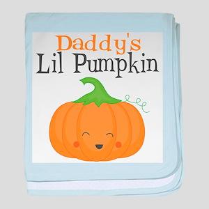 Daddys Little Pumpkin baby blanket