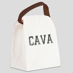 CAVA, Vintage Canvas Lunch Bag