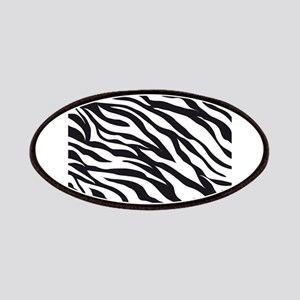 Zebra Animal Print Patches