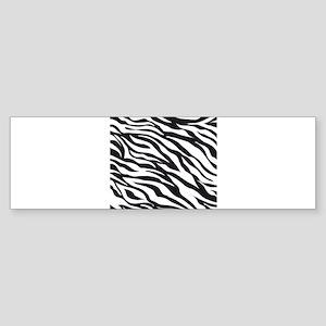 Zebra Animal Print Sticker (Bumper)