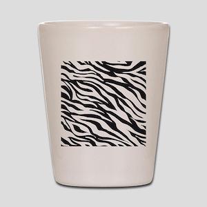 Zebra Animal Print Shot Glass