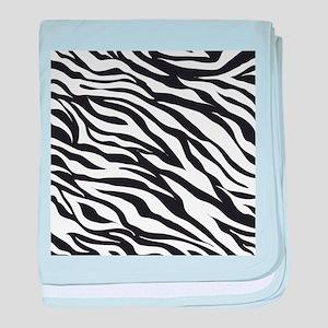Zebra Animal Print baby blanket