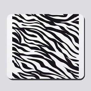 Zebra Animal Print Mousepad