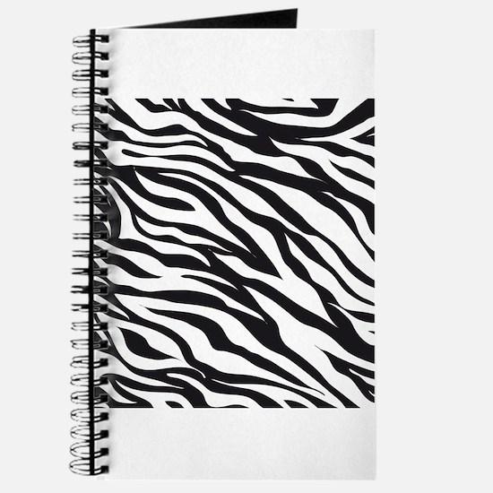 Zebra Animal Print Journal
